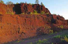 Volcanic bombs and Red Hill