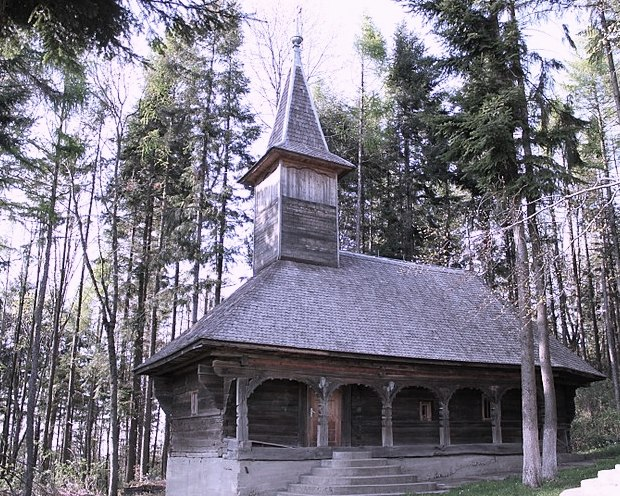 The wooden church