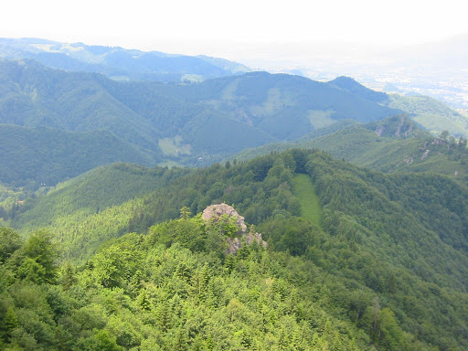 The rocks of the Tatar
